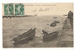 85 Sables D'Olonne, Canots à La Dérive Pendant La Tempête (076) - Sables D'Olonne