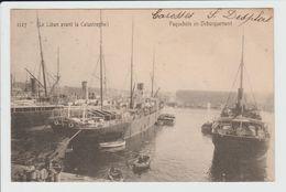 MARSEILLE - BOUCHES DU RHONE - PAQUEBOTS EN DEBARQUEMENT - LE LIBAN AVANT LA CATASTROPHE - Vieux Port, Saint Victor, Le Panier
