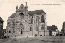 CPA RENNES - EGLISE NOTRE DAME DE BONNE NOUVELLE - Rennes
