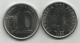 Paraguay 10 Guaranies 1980. UNC FAO KM#167 - Paraguay