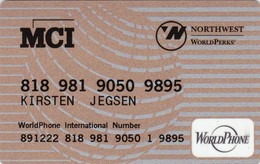 United States, MCI Personal / Northwest, World Phone, 2 Scans. - Other
