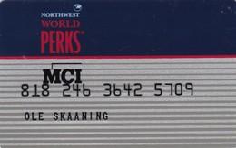 United States, MCI Northwest World Perks, 2 Scans. - Other
