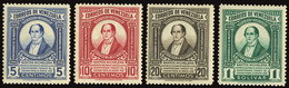 VENEZUELA 1948 SANTOS MICHELENA COMPLETE SET (Yvert 292-295) MNH ** - Venezuela