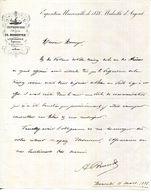 72.LE MANS.IMPRIMERIE.LITHOGRAPHIE.LIBRAIRIE.E.D.MONNOYER. - Imprimerie & Papeterie
