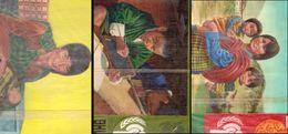 Bhutan 1979, International Year Of The Child, 3 ORIGINAL ARTWORK - Brunei (1984-...)