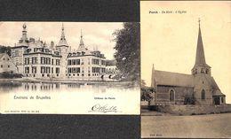 Perck - Château Et Eglise Kasteel En Kerk (lot 2 Cartes PK's) - Steenokkerzeel