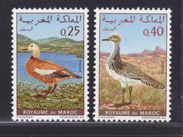 MAROC N°  606 & 607 ** MNH Neufs Sans Charnière, TB (D6498) Oiseaux - Morocco (1956-...)