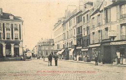 SAINT GERMAIN EN LAYE - La Place Du Marché.(Hôtel Du Printemps). - St. Germain En Laye