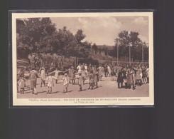 Cpa  Yquëll    Colonie De Vacances De Strasbourg  : La Place De Jeux   Année 1931 - Schirmeck