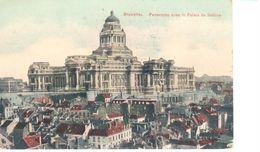 Bruxelles - CPA - Brussel - Panorama Avec Le Palais De Justice - Multi-vues, Vues Panoramiques