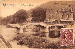 Chaudfontaine - Le Pont Et L'Hôtel (photo Rutenaers, Timbre) - Chaudfontaine