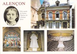 61 ALENCON / MULTIVUES / VILLE NATALE DE SAINTE THERESE / MAISON / ROBE DE BAPTEME .ETC... - Alencon