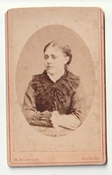 CDV Vrouw H. Boonstoppel Dordrecht - Personnes Anonymes