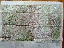 Carte De France Type 1912 Mainz Mayence - Cartes Géographiques