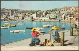 St Ives Harbour, Cornwall, 1961 - Jarrold Postcard - St.Ives