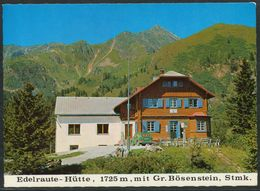 Ansichtskarten - Edelraute - Hütte - 1725 M - Mit Gr. Bösenstein - Steiermark - Rottenmann