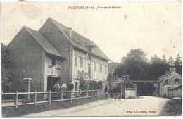 27 Acquigny Vue Sur Le Moulin  Animation - Acquigny