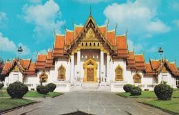 CARTOLINA - POSTCARD - TAILANDIA - WAT BENCHAMABOPHITR - MARPLE TEMPLE BANGKOK - Tailandia
