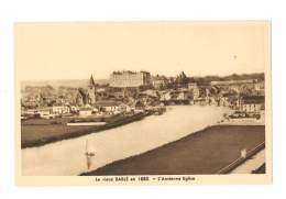 Le Vieux Sablé En 1880 - L'ancienne église - 203 - Sable Sur Sarthe