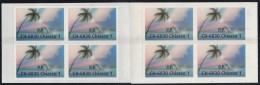 Swiss Post International, Postdienst-Vignetten Für Italien, Komplettes Markenheftchen, Touristenmarke 1: Palme, 1996 - Portofreiheit