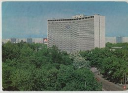 Uzbekistan Tashkent Hotel 8108 Post Card Postkarte POSTCARD - Uzbekistan