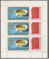 UNGARN, 3042 A, Kleinbogen, Postfrisch **, Internationale Briefmarkenausstellung SOZFILEX '75, Moskau 1975 - Blocks & Kleinbögen