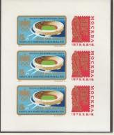 UNGARN, 3042 B, Kleinbogen, Postfrisch **, Internationale Briefmarkenausstellung SOZFILEX '75, Moskau 1975 - Blocchi & Foglietti