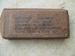 Chargeur USm1 Neutralisé Dans Emballage De Stockage Piece De Collection - Armes Neutralisées
