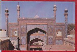 THE SHRINE OF THE GREAT MUSLIM SAINT PAKISTAN POSTCARD UNUSED - Pakistan