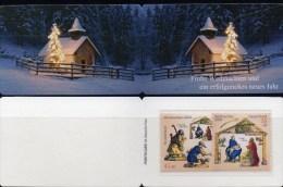 Weihnachten Deutschland Markenheft 2003 BRD Portocard 2369/0 ** 10€ Anbetung Hirte Carnet Christmas Booklet Germany - Noël