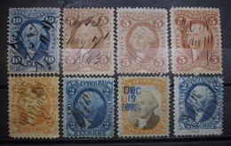 USA Internal Revenue 1863 - 1873 Federzug 1x Gestempelt Abarten ! Höher KW,-  (K375) - 1847-99 Unionsausgaben