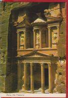 PETRA THE TREASURY JORDAN POSTCARD UNUSED - Jordan