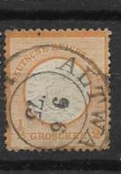1872 USED German Empire,adler Mit Grossem Brustschild - Germany