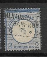 1872 USED German Empire,adler Mit Grossem Brustschild - Alemania