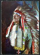 "DDR,GDR 1972 CPSM Color AK Indianer Museum Radebeul Der Karl-May-Stiftung ""Häuptling American Horse"" 1 AK - Indianer"