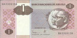 ANGOLA - 1 KWANZA - 1999 - HA3309158 - AUNC - NICE PRICE - Angola