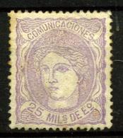 2426- España Nº 106 - 1868-70 Gobierno Provisional