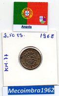 *AN.45 - 2$50 EscudoS 1968 Angola Portuguesa - Colonia - Angola