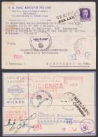 MILANO AFS Igienica 2 Karten Mit Zensur Certificato , Geprüft OKW 1942 - Deutschland
