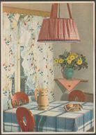Advertising, Reklame - Indanthren Textiles, C.1935 - AK Postcard - Advertising