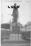 DEPT 44 : édit. E L D N° 189 : Nantes Statue De Cambronne ( Coll. F Chapeau Nantes ) - Nantes