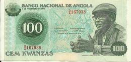 ANGOLA - 100 KWANZAS - 1979 - 167938 - CIRCULATED - NICE PRICE - Angola
