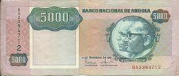 ANGOLA - 5 000 KWANZAS - 1991 - DA2394712 - CIRCULATED - NICE PRICE - Angola