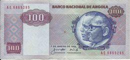 ANGOLA - 100 KWANZAS - 1984 - AE 6865295 - AUNC - NICE PRICE - Angola