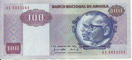 ANGOLA - 100 KWANZAS - 1984 - AE 6923364 - AUNC - NICE PRICE - Angola