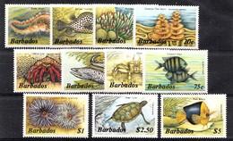 Barbados 1985  Mi.nr: Meerestiere  NEUF SANS CHARNIERE / MNH / POSTFRIS - Barbades (1966-...)