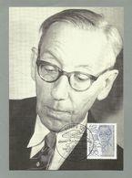 BRD 1992  Mi.Nr. 1629 , 100. Geburtstag Von Werner Bergengruen - Hagenbach Maximum Karte - Ausgabetag Berlin 10.09.1992 - [7] République Fédérale