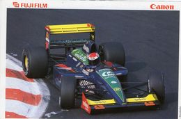 Grand Prix 1991  -  Venturi-Lamborghini LC92 F1  -  Pilote: Bertrand Gachot  -  Carte Postale - Grand Prix / F1