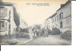 Ethe - Rue Du Chateau Cugnon - Ed: Victor Caên - Voir 2 Scans. - Virton