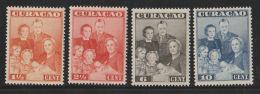 Curacao 1943   NVPH Nr. 164-167     MNH - Curazao, Antillas Holandesas, Aruba